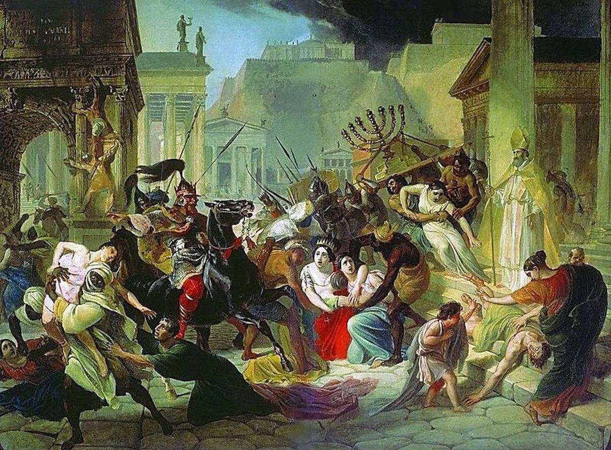 Resultado de imagen para caida de roma